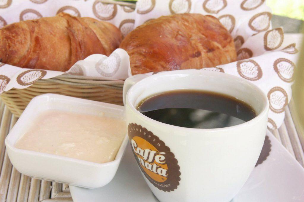 ナタとコーヒーのセット