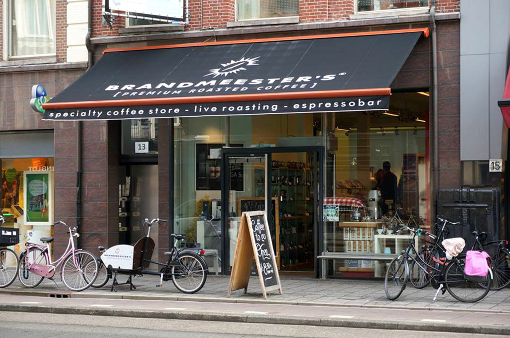 Brandmeester'sアムステルダム店はミュージアム広場から徒歩3分(Brandmeester's提供写真)