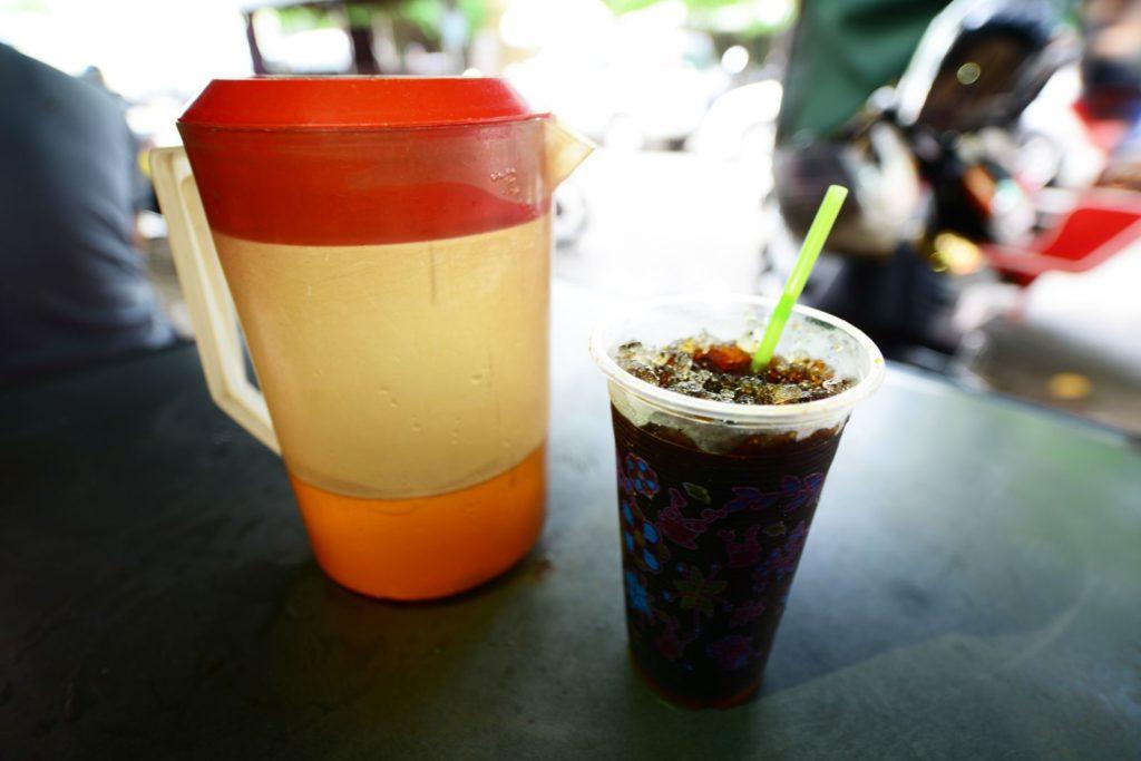 濃厚なアイスブラックコーヒー